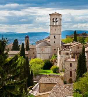 Marche en ombrie sur les pas de saint fran ois italie - Piscine oloron sainte marie horaires ...