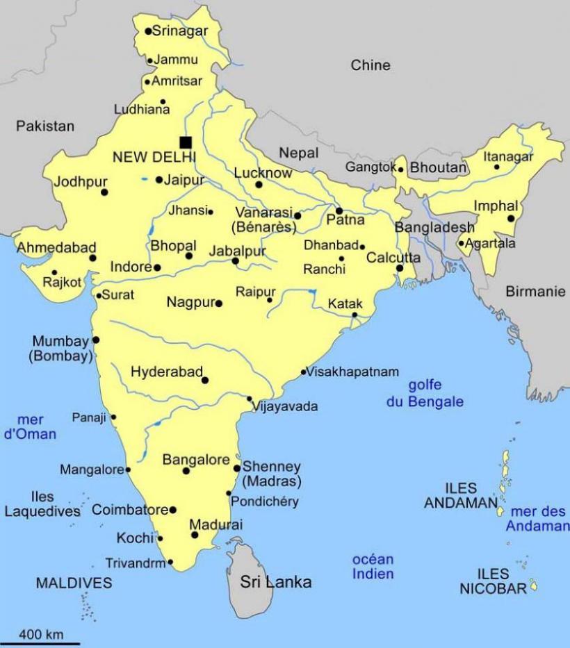 Carte Inde Kochi.Pelerinage En Inde Chretiente En Terre Hindoue Inde Ictus
